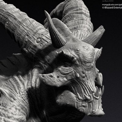 researches for Lucion in3D - ZBRUSH
