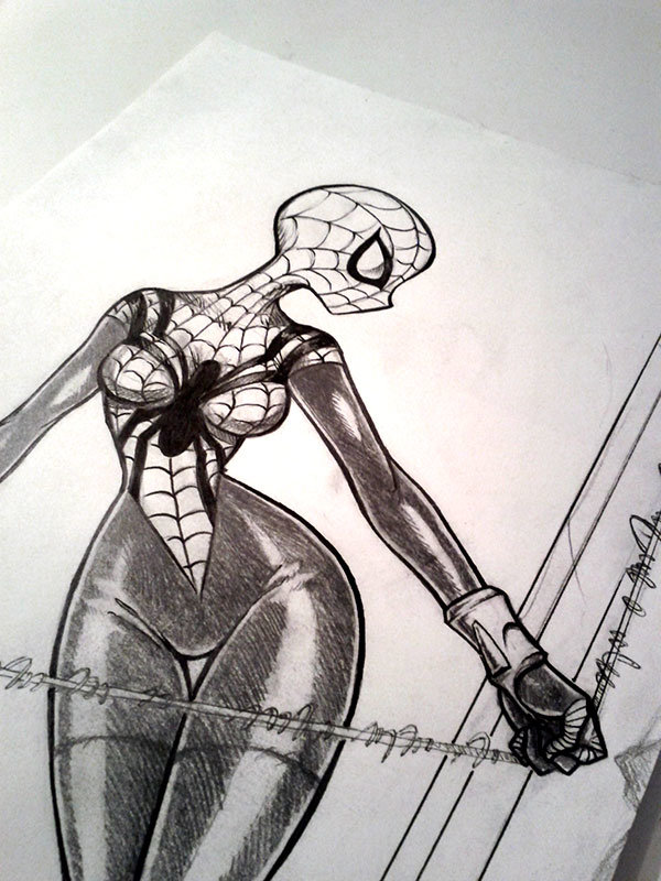 Spider-Girl sketch