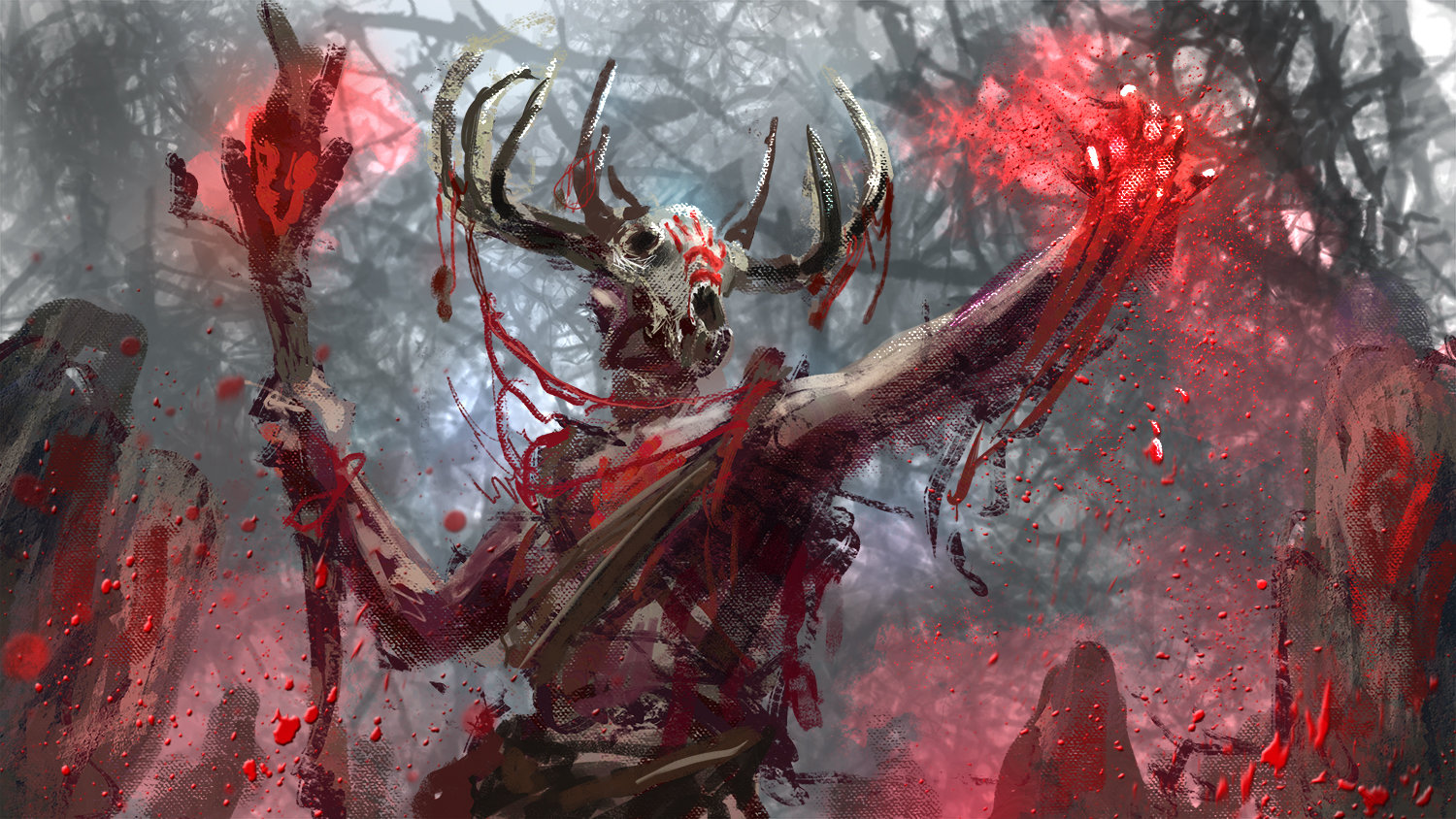 Blood Shaman by Conor Burke : ImaginaryWitches