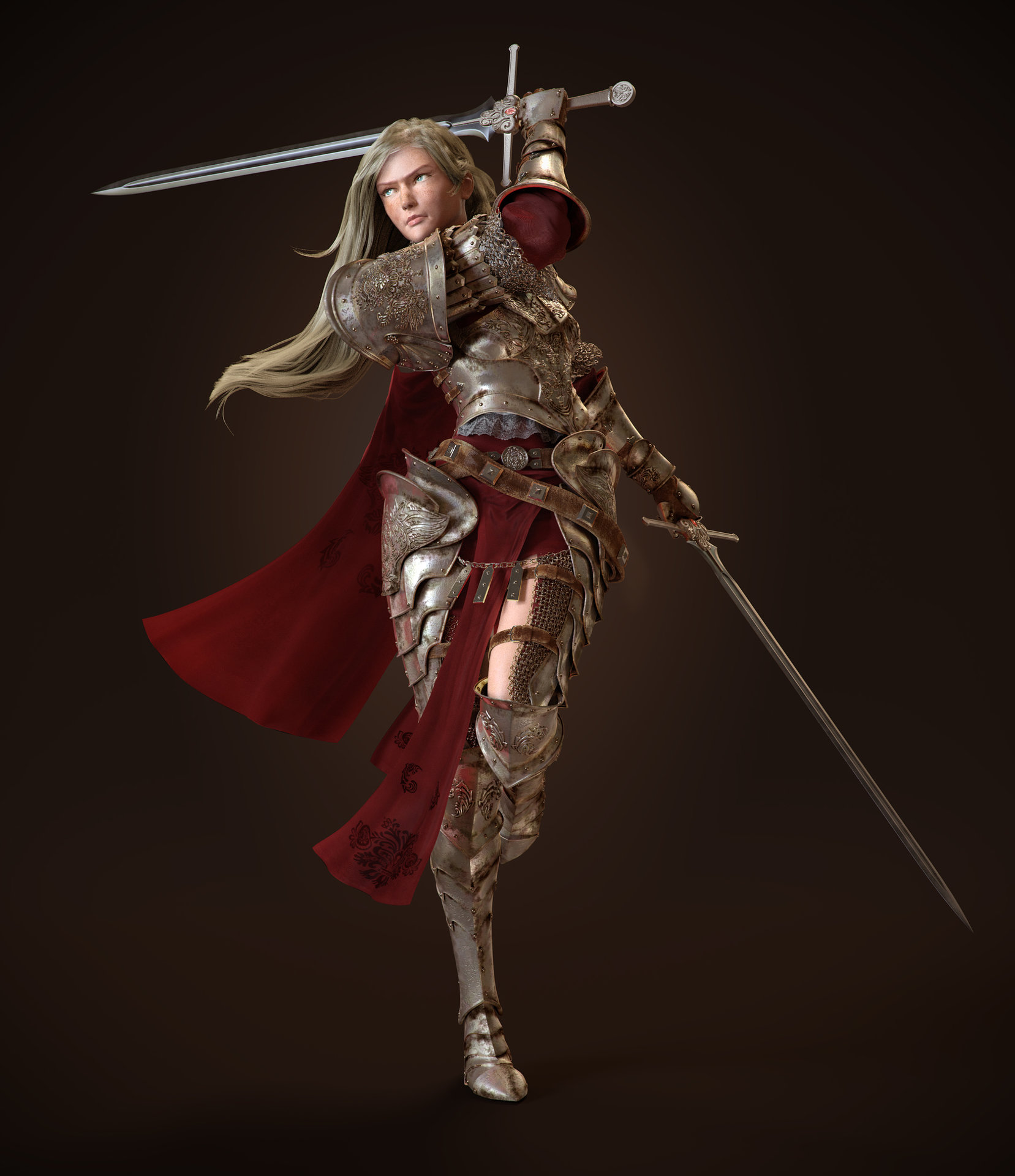 ArtStation - Female Kn...