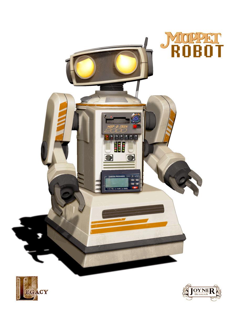 80' s Robot Final Design