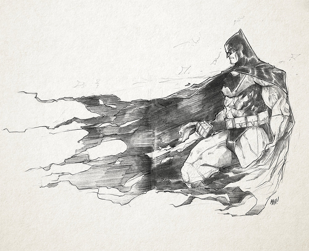 Sketch: Batman