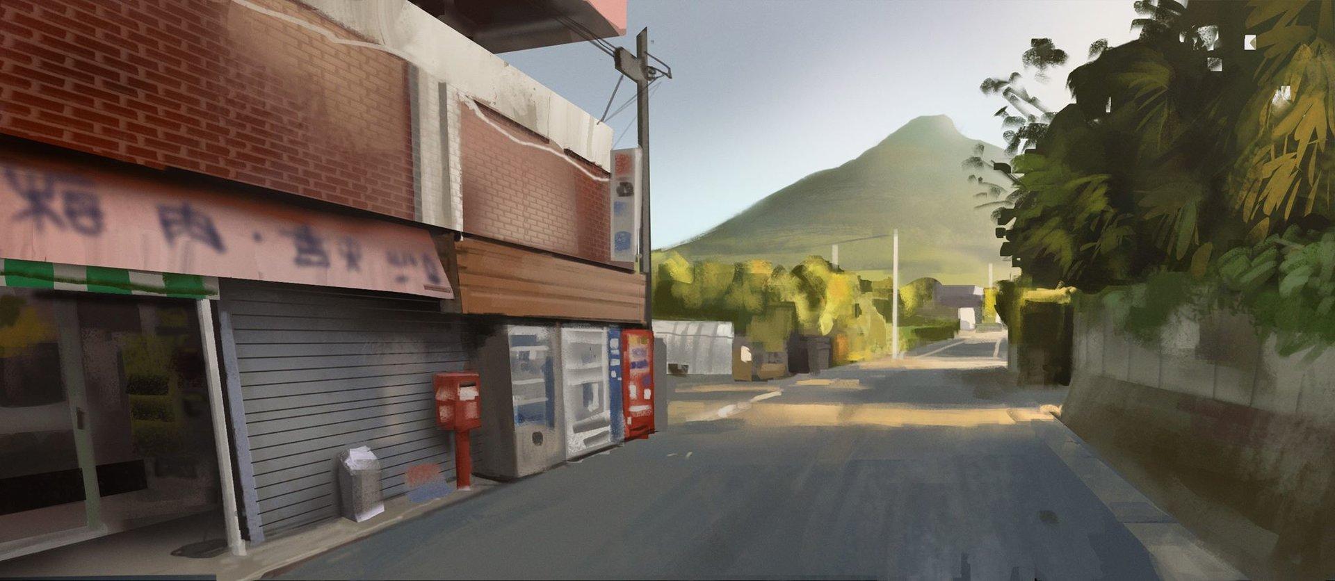 Adrien girod japan study street