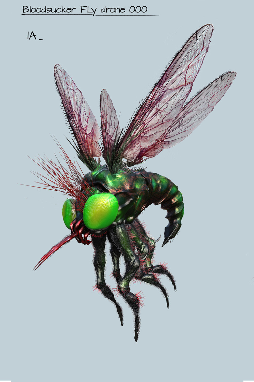 Vnmribaya geronimo ribaya bloodsucker fly drone a1