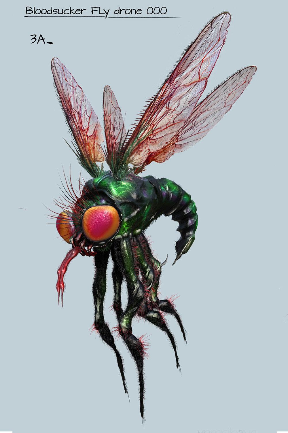 Vnmribaya geronimo ribaya bloodsucker fly drone a3