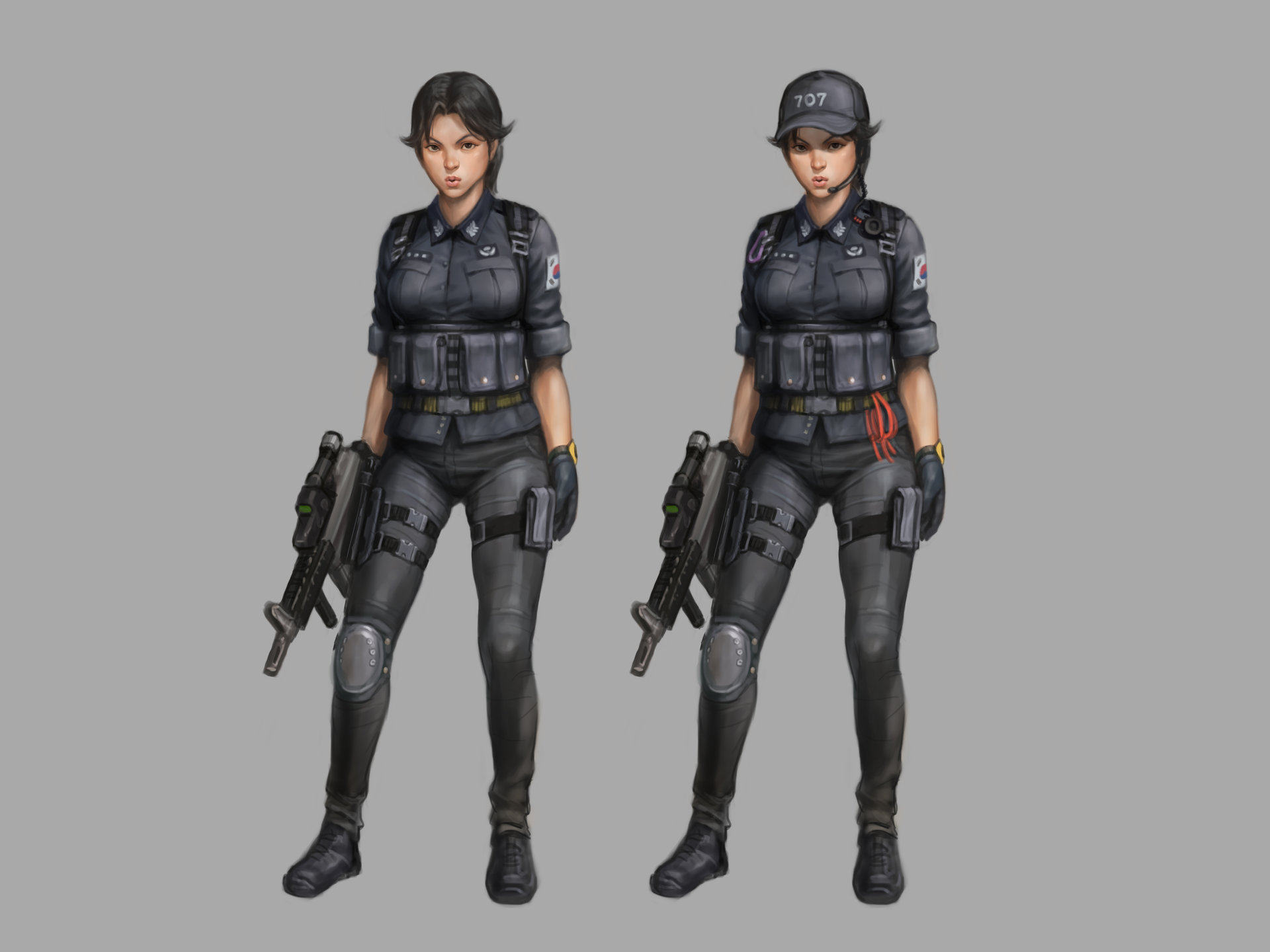 Sung Wook Kang Special Force Character Concept Rok