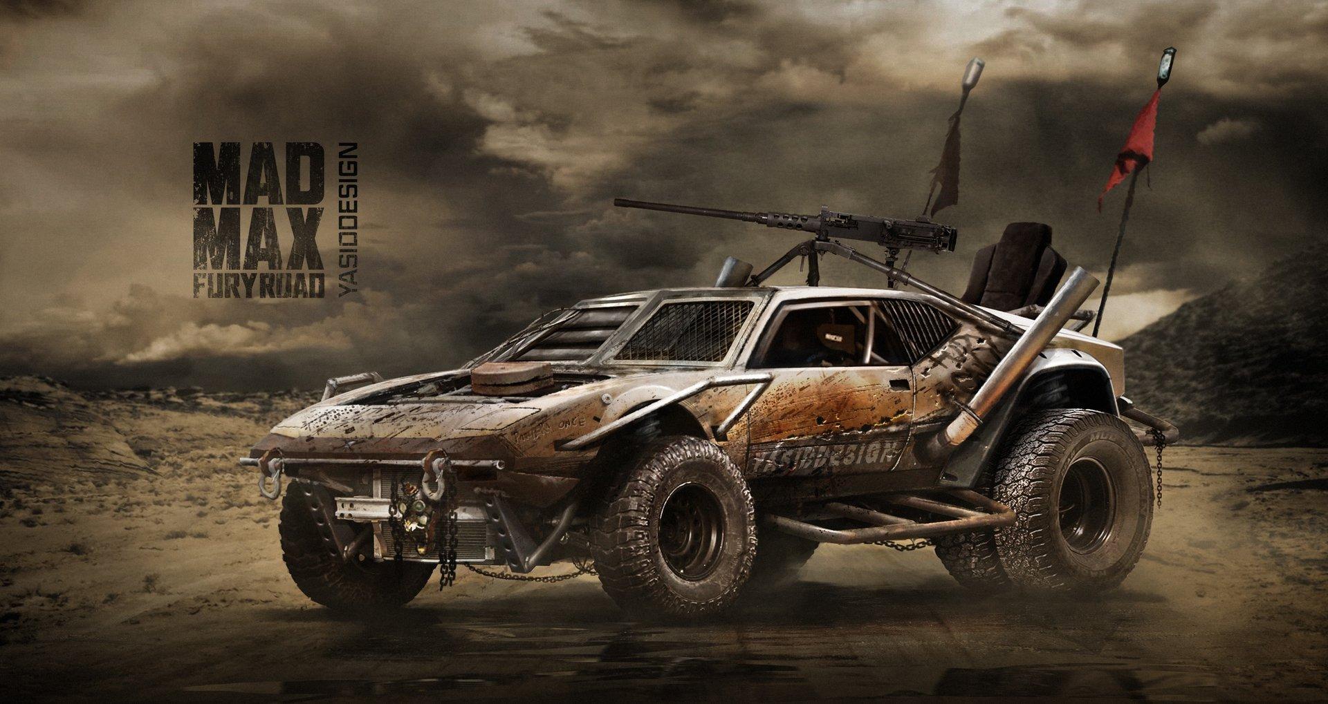 Artstation Detomaso Pantera Mad Max Fury Road Al