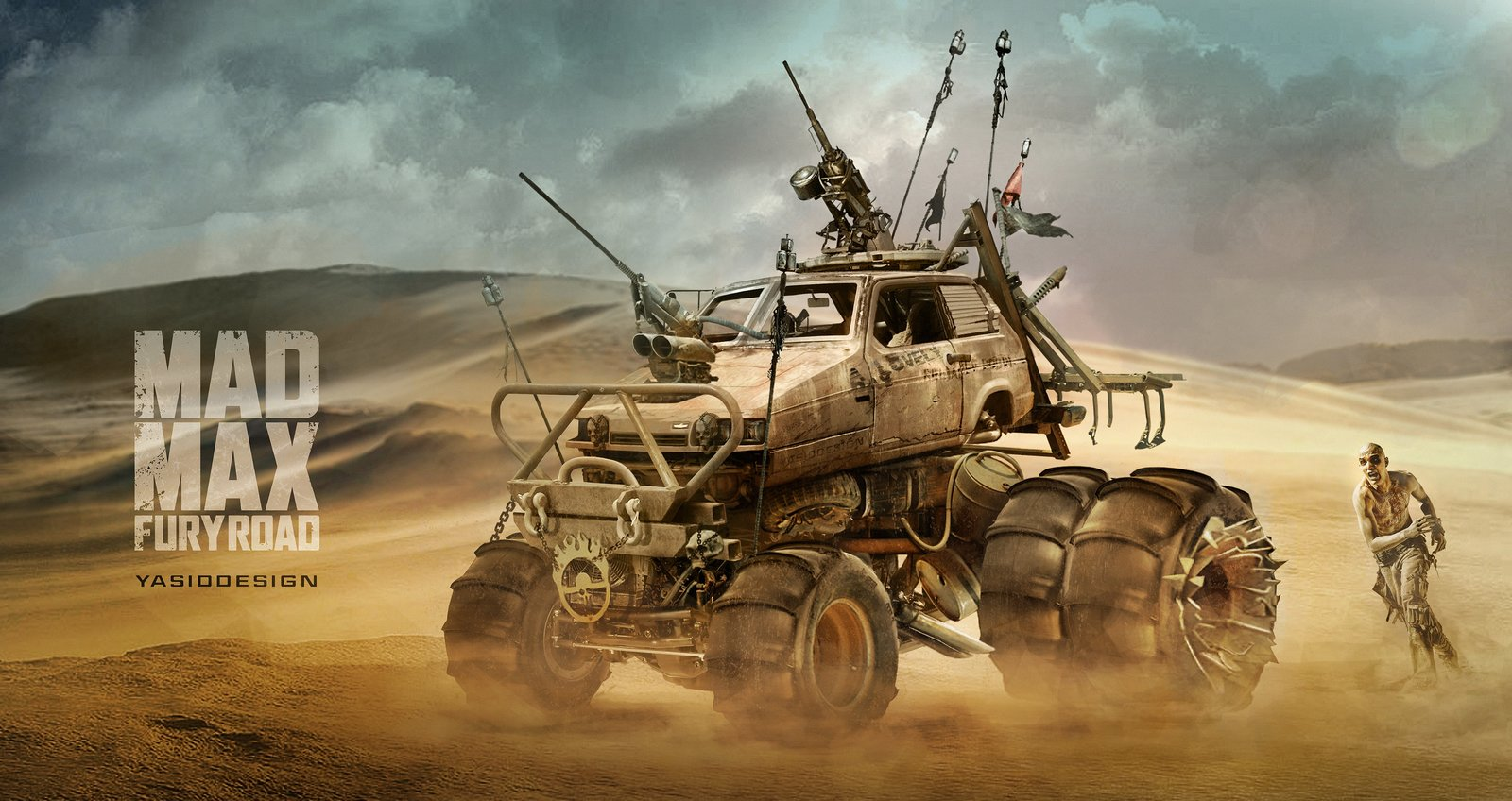 Reliant Robin _ Mad Max Fury Road
