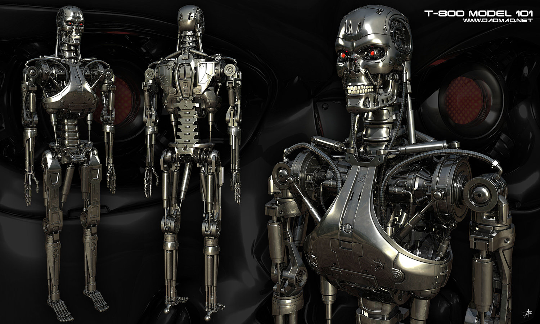 Alexander Billik - Terminator: T-800 Model 101