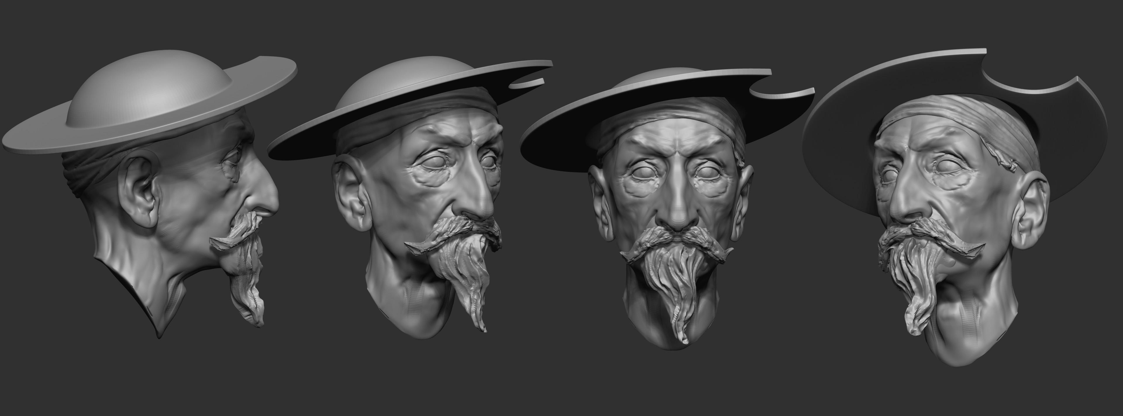 Head sculpting_stage 02