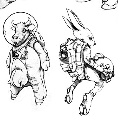 dofresh   dofresh space animals