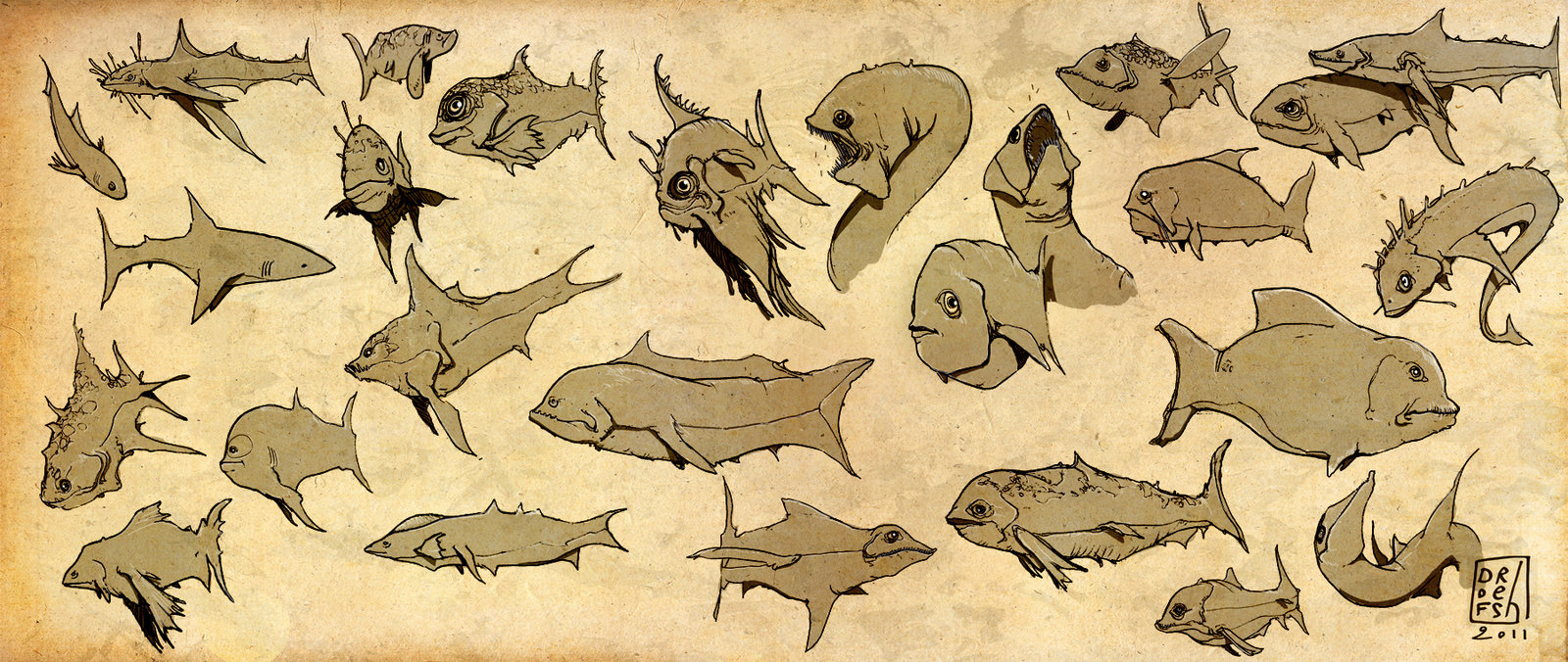 Fishes, fishes
