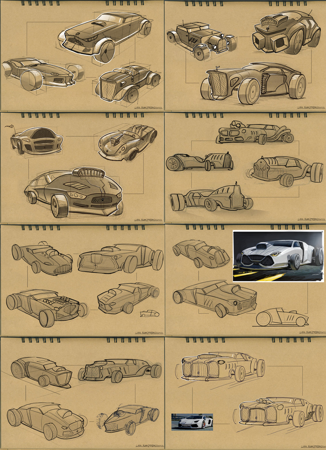 Lukas kuhn car wips collection