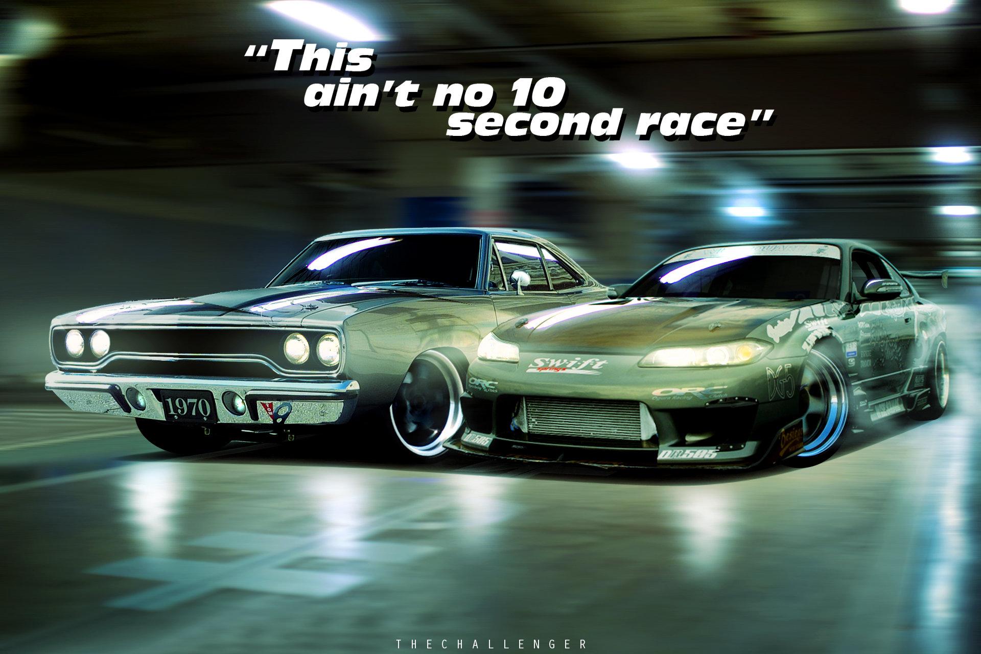 ArtStation - Fast and the Furious: Tokyo Drift - RoadRunner vs ...