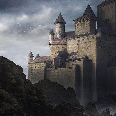 Julien gauthier 001 concept castle