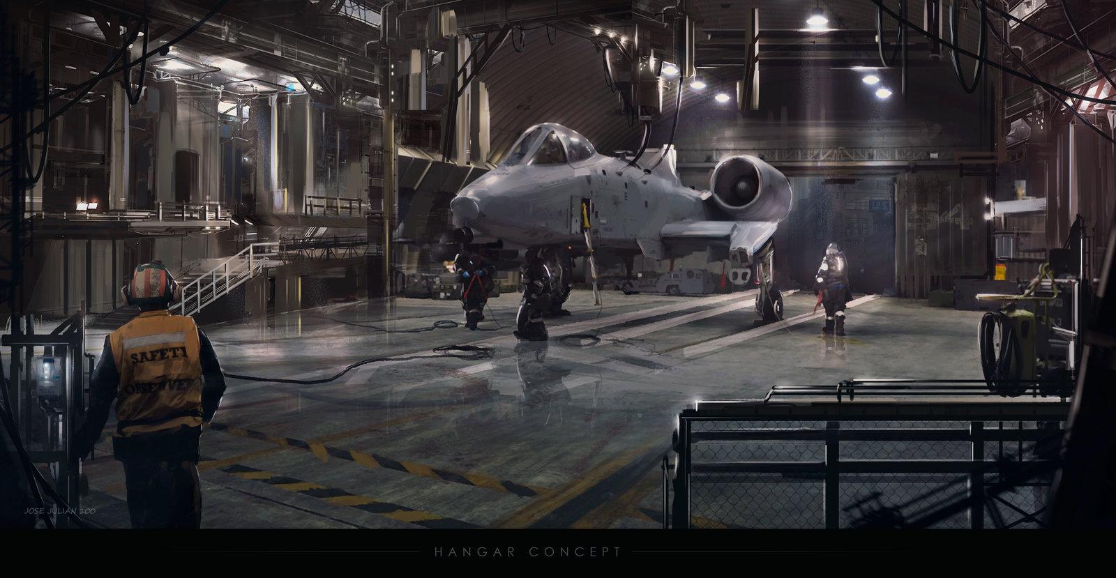 Hangar concept.