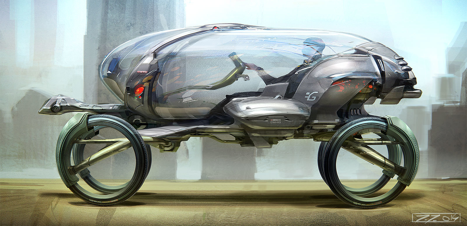 Jakub javora vehicle sketch