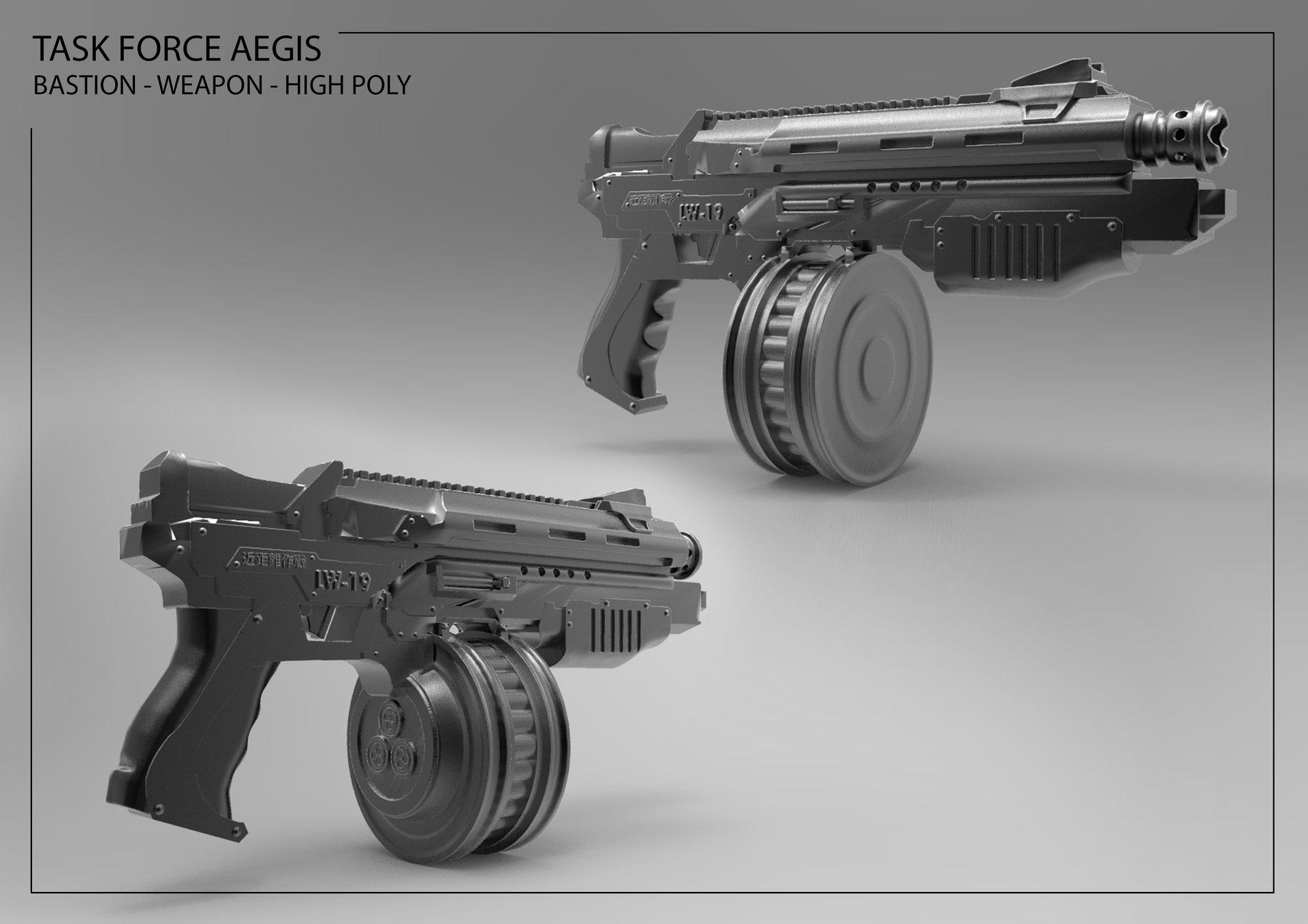 Anton ehn bastion weapon