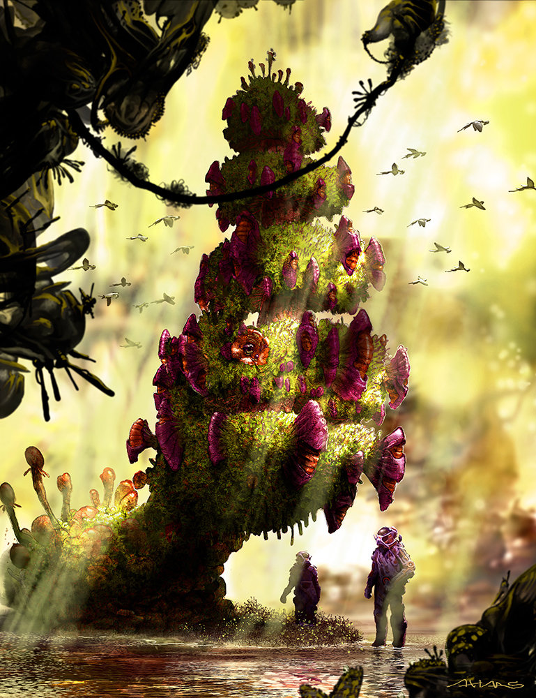 Arthur haas junglescene ii small