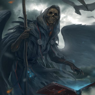 Lee kent karthus leauge of legends grim keeper by leekent d7m6fe3