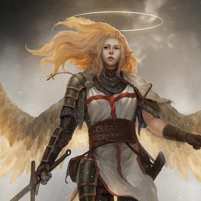 Lee kent angel in the war 2 by leekent d8kvrwz