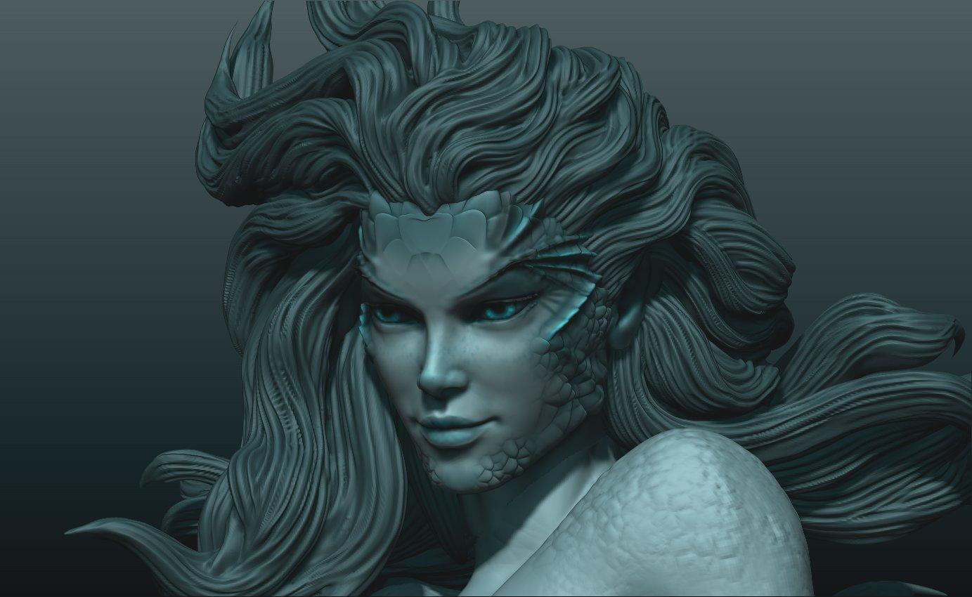 Ehren bienert evil twin mermaid