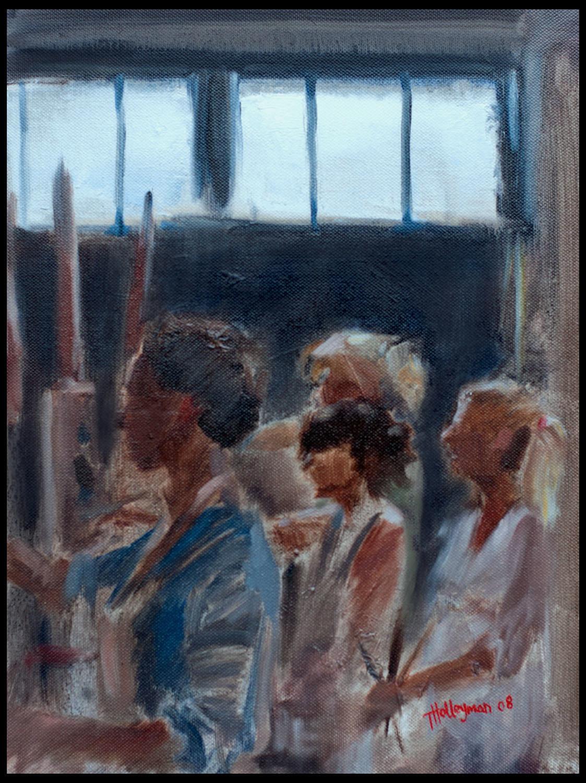 Tim holleyman painting girls