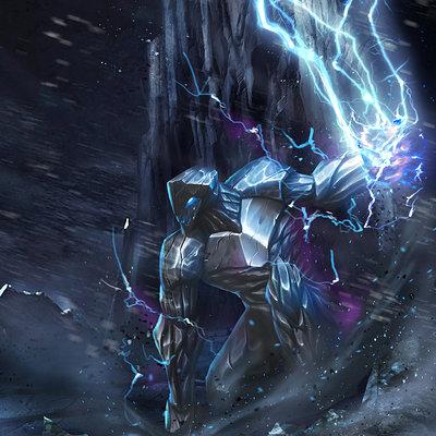 Danh nguyen ice and thunder elemental