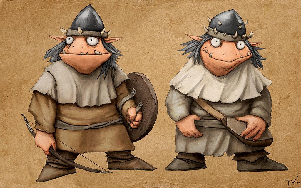 Goblin adventurers!