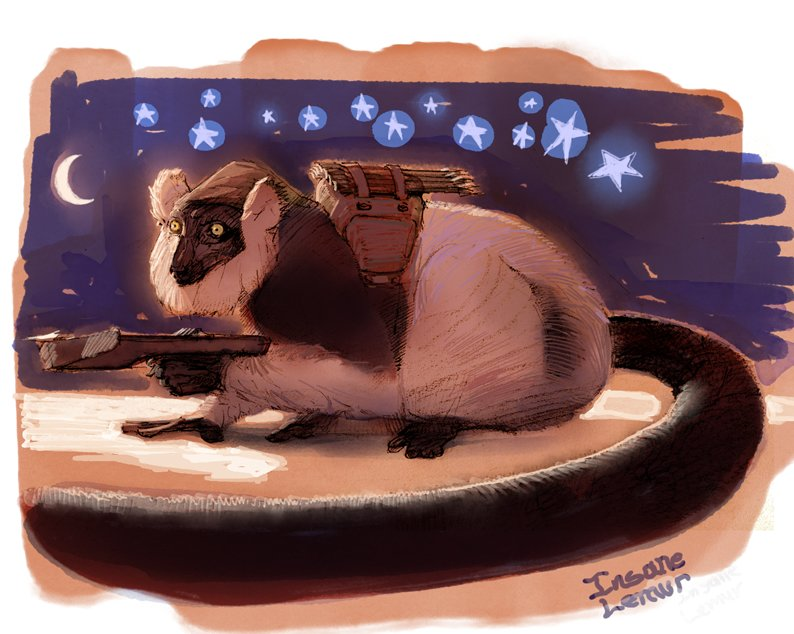 Joseph culp lemurformwithcrossbow