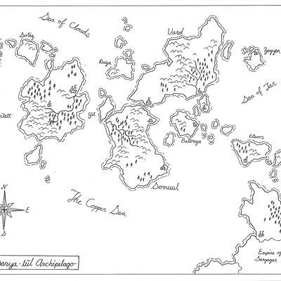 Ben milton sarya tul archipelago