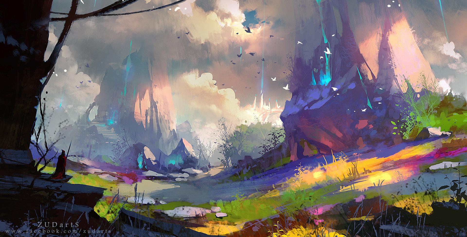 ArtStation - unknown world, Lee zudARTs