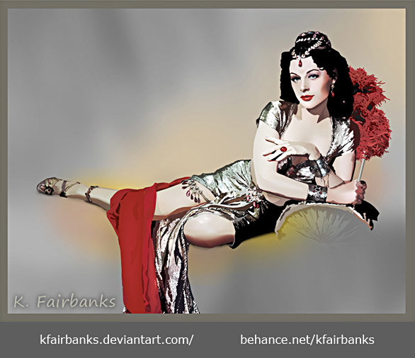 K fairbanks hedylamarr by k fairbanks