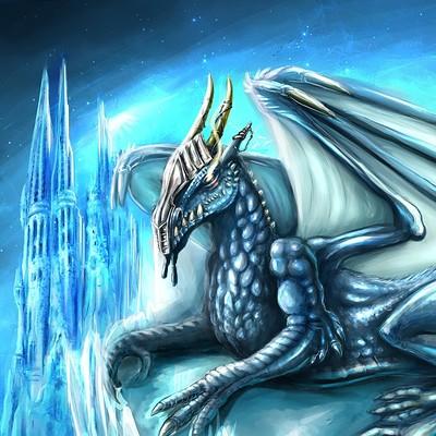 Teresa guido drago con castello