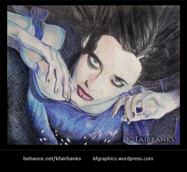 Color pencil drawing by K. Fairbanks