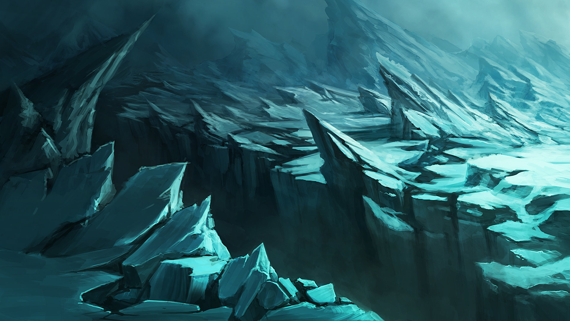 Quentin ghion ice landscape