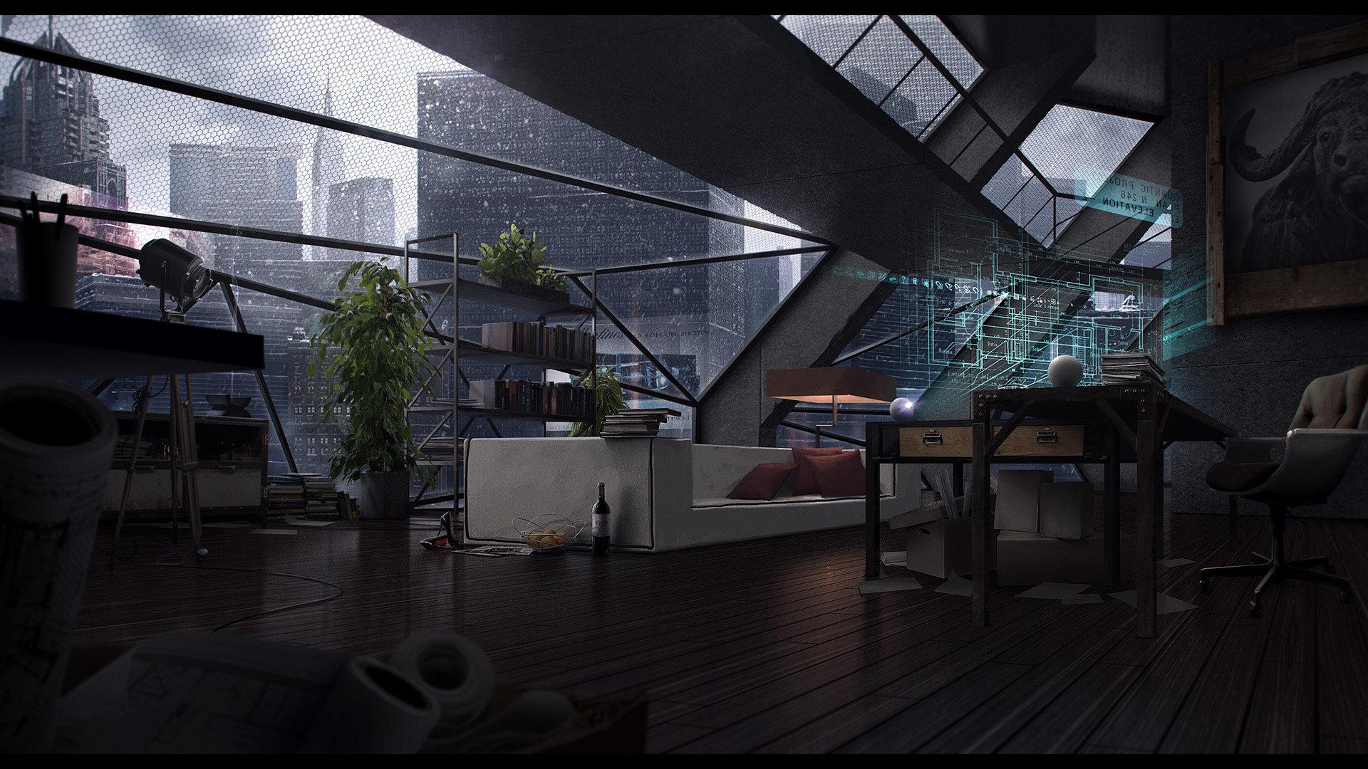 Romain jouandeau the loft hd