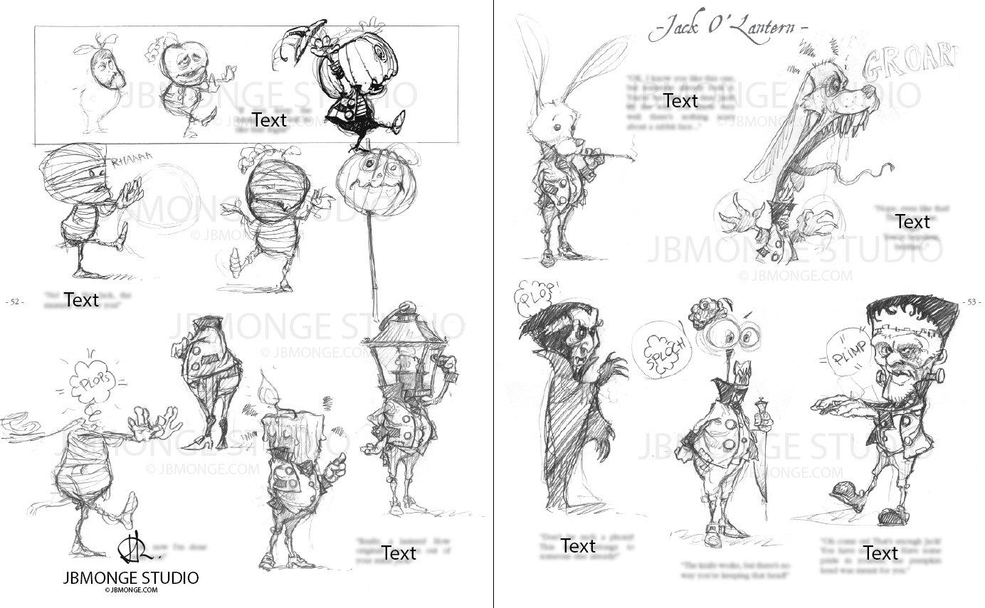 Sample3 - Sketchbook#1 July 2015 Pre-order it on https://www.etsy.com/ca/listing/235554113/pre-order-sketchbook-1-signed-and