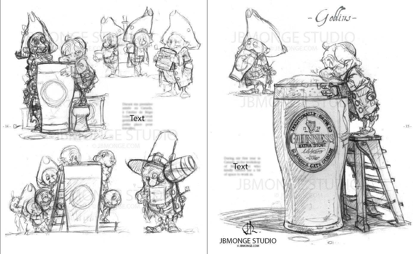 Sample1 - Sketchbook#1 July 2015 Pre-order it on https://www.etsy.com/ca/listing/235554113/pre-order-sketchbook-1-signed-and