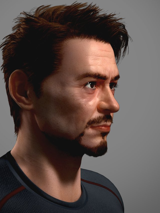 Tony Stark Hair Color Hairstyle Inspirations 2018