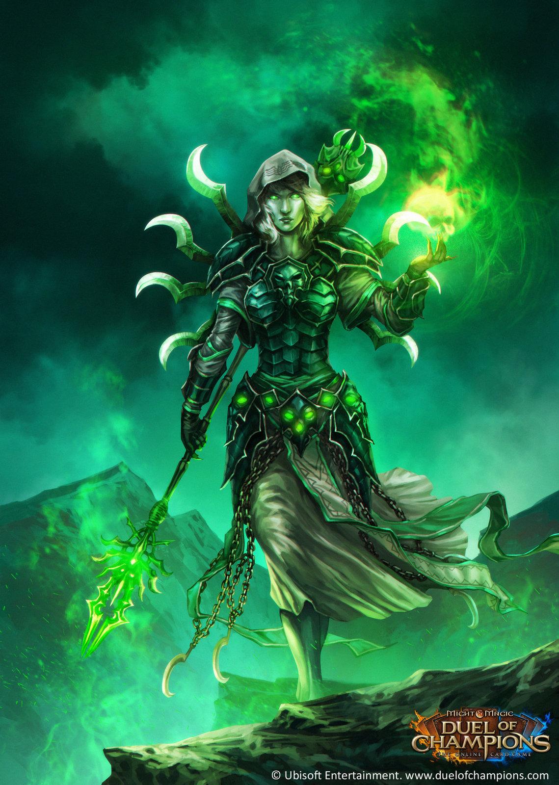 Sveltana, Hierophant of the Spider Queen