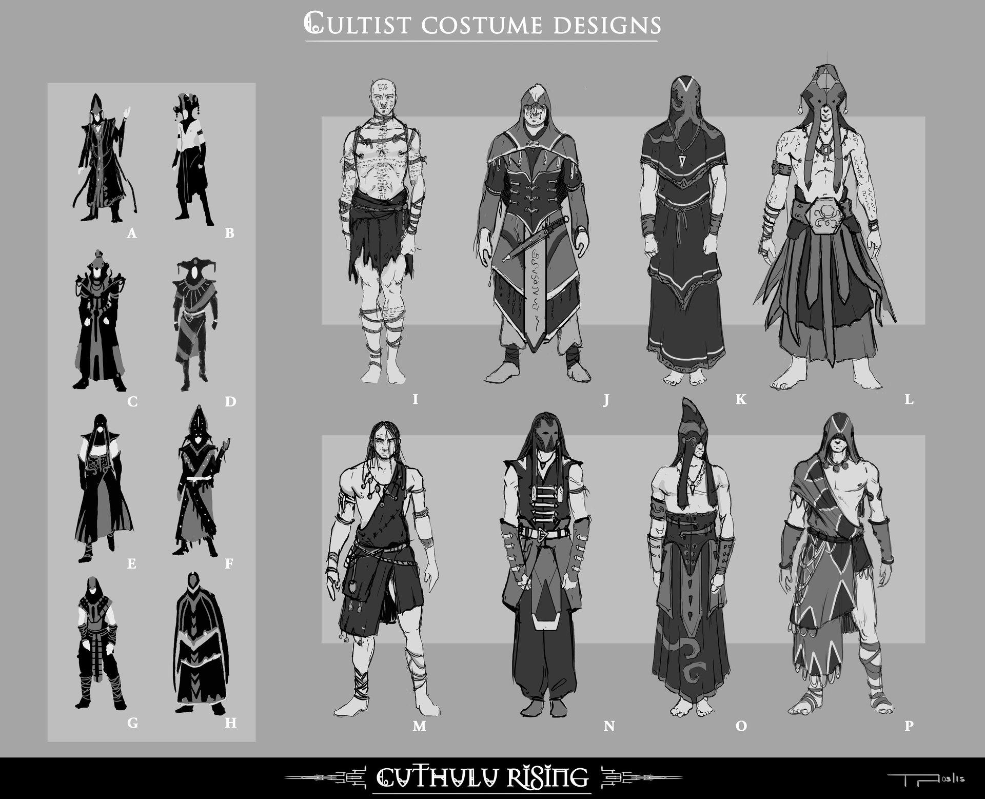 Timo peter cultist costume design