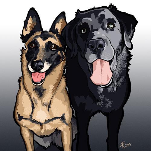 Steve rampton 2dogs