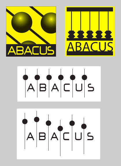 Logo prototypes for client, created using client preferred color schemes. Media: Illustrator