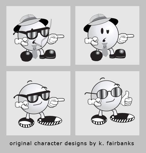 Logo prototypes for client. Media: Illustrator