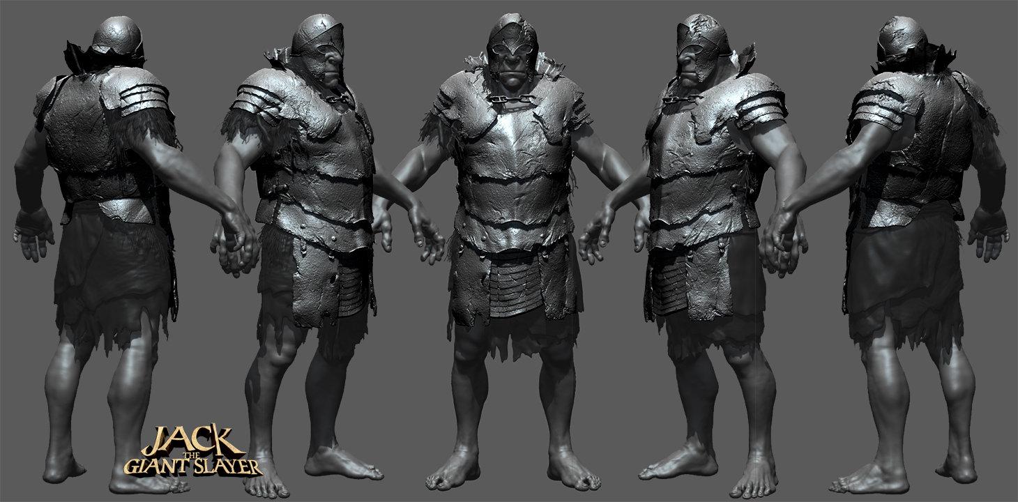 David Dame - Jack the Giant Slayer - costume models