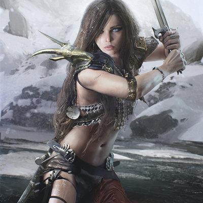 Maciej kuciara swordswoman adv v003