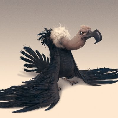 James castillo vulture small