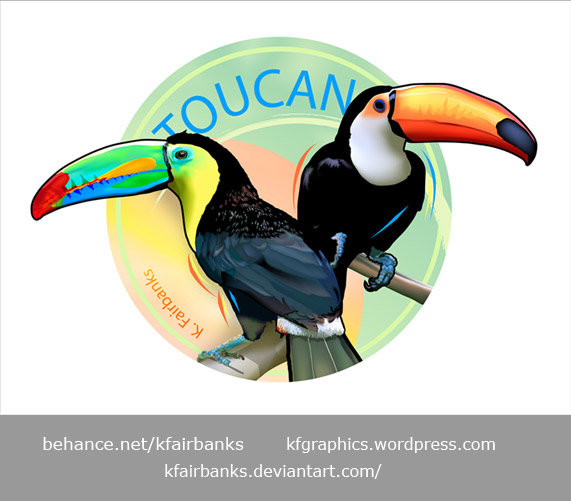 K fairbanks toucans by k fairbanks