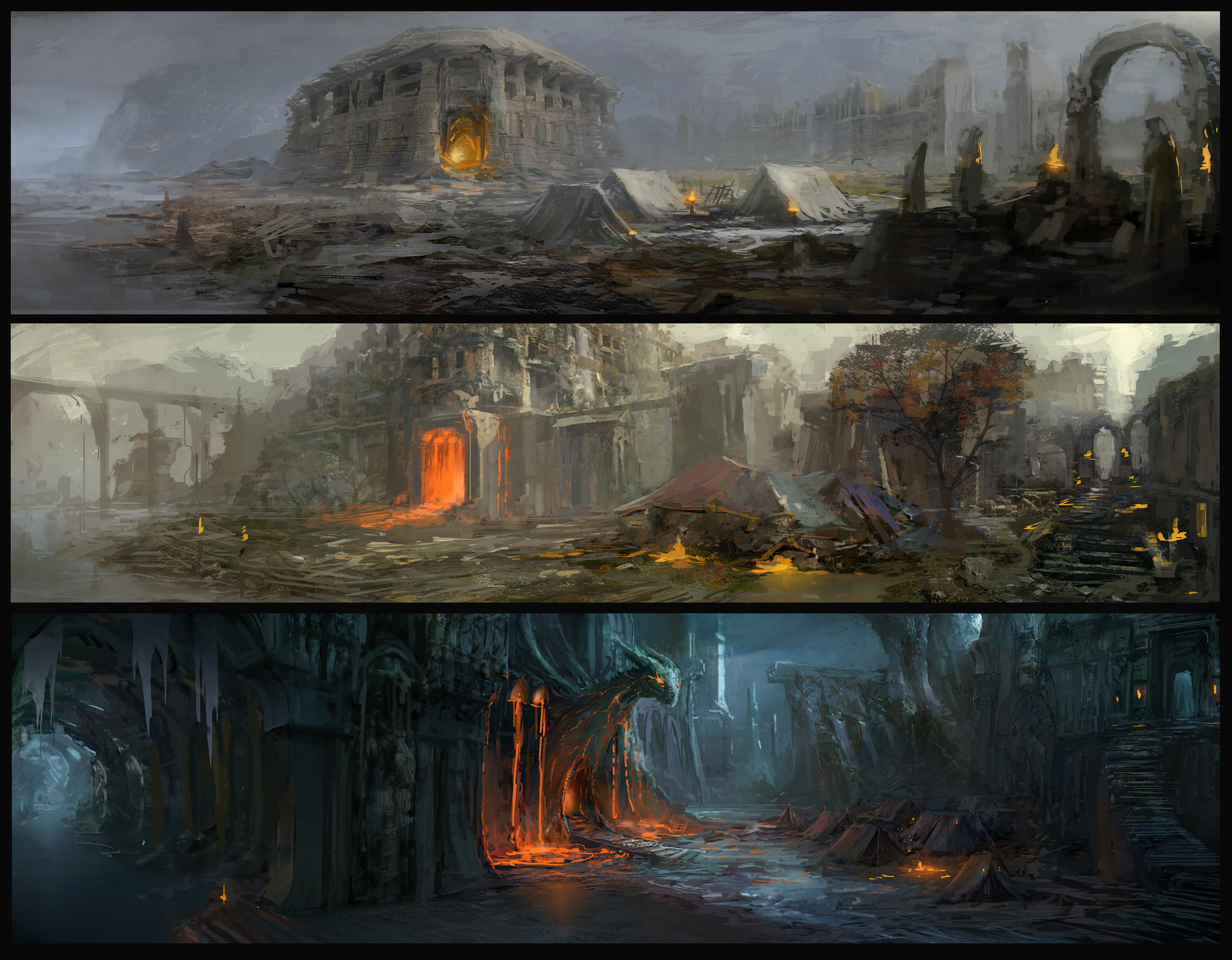 Muyoung kim environment hb concept sketches
